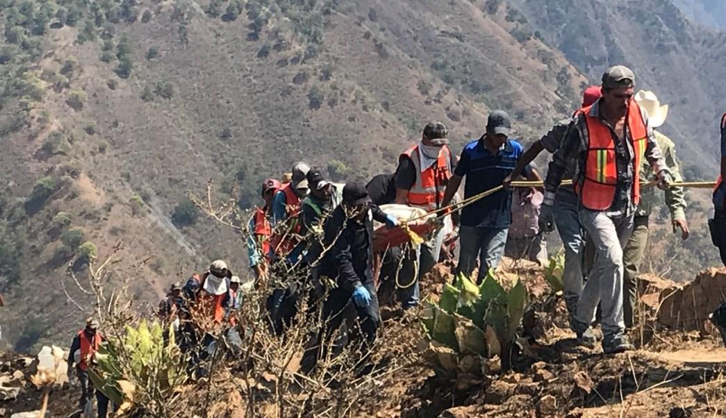 Continúa búsqueda mineros semana derrumbe Chihuahua