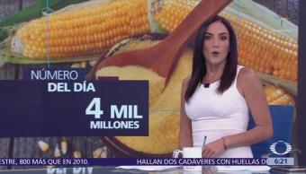 número día 4 mil millones, El número del día dólares anuales