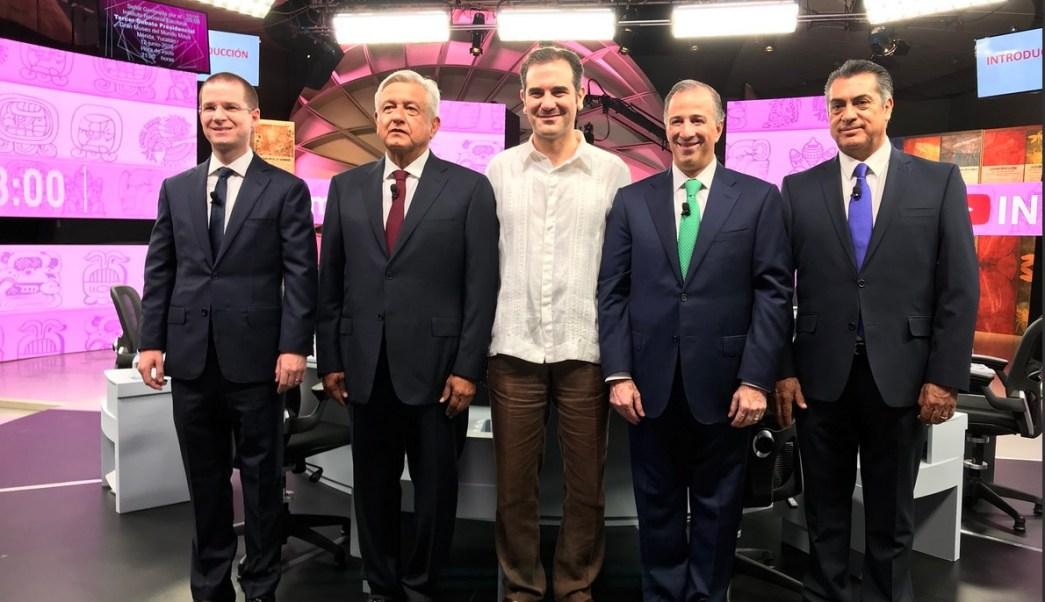 Comienza el tercer debate de candidatos a la Presidencia