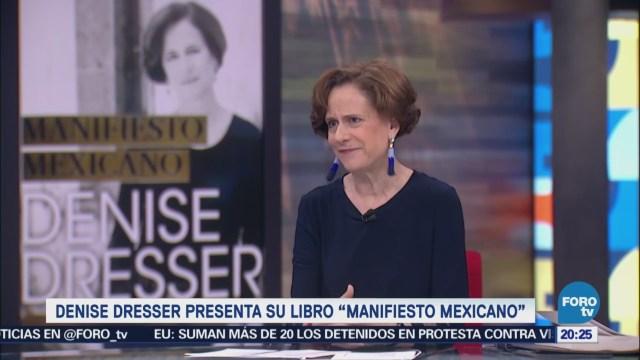 Denise Dresser presenta su libro Manifiesto