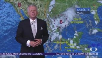 Despierta con Tiempo: Cuatro sistemas ocasionarán lluvias en 28 entidades