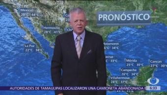 Despierta con Tiempo: Nublados y tormentas al oriente, centro y sur de México