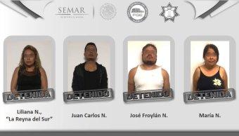 Detienen a célula delictiva liderada por 'La Reyna del Sur'