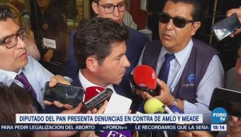 Diputado Panista Denuncia Pgr Meade López Obrador