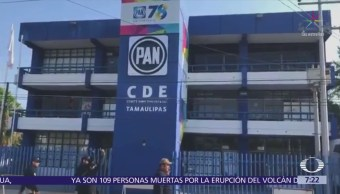 Disparan contra sede del PAN en Ciudad