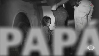 Divulgan audio de niños migrantes separados