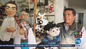 Rafael Lemus Vida Cientos Títeres Querétaro