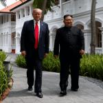 SRE: Positivo, encuentro Trump-Kim en Singapur