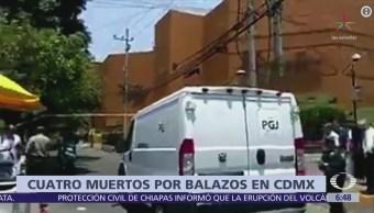 Dos muertos tras balacera en plaza comercial 'Centro Coyoacán'