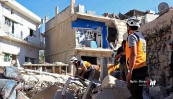 Mueren 17 civiles, incluidos niños, por ataque aéreo en Siria