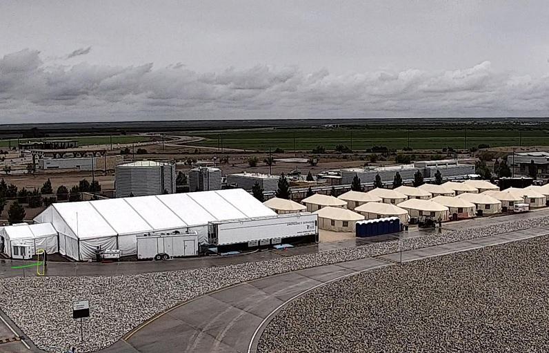 Ejército Estados Unidos albergar 12 mil migrantes