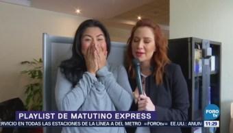 'Playlist' de Matutino en pasillos de Televisa