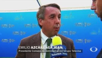 Emilio Azcárraga Celebra México Sume Mundial