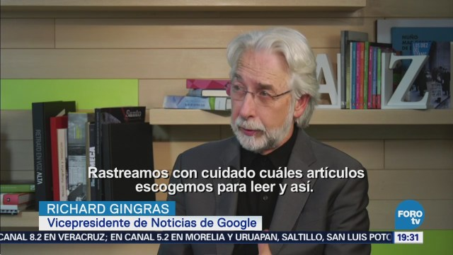 Internet Reto Lidiar Desinformación Richard Gingras Google