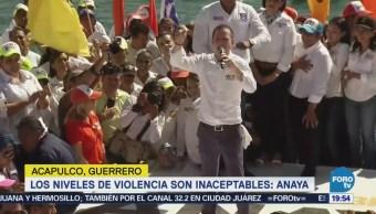 México Hace Falta Recuperar Paz Ricardo Anaya