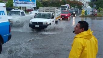 Zona de inestabilidad provoca lluvias en Yucatán y Q. Roo