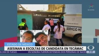 Encuentran cuerpos de dos policías municipales secuestrados en Tecámac, Edomex