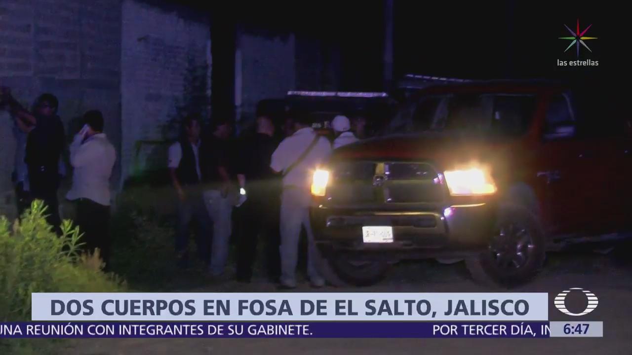 Encuentran dos osamentas en fosa clandestina de Jalisco