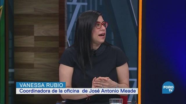 Entrevista, Vanessa Rubio, Maricarmen Cortés, Marco Antonio Mares