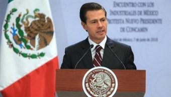 Peña Nieto: Habrá condiciones de respeto al voto