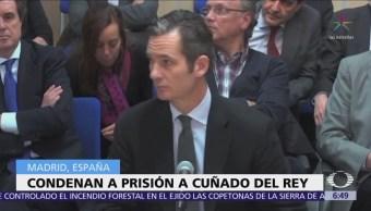 España condena a Iñaki Urdangarín a prisión