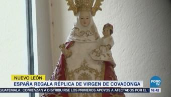 España Regala Réplica Virgen Covadonga México