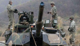 Estados Unidos suspende ejercicios militar Surcorea
