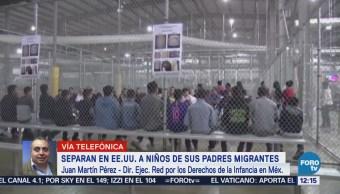 EU separa a niños de sus padres migrantes