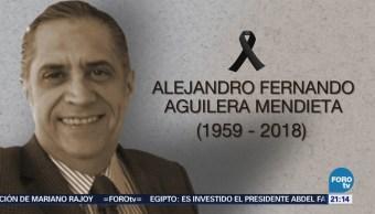 Fallece Programación Televisa Alejandro Fernando Aguilera Mendieta