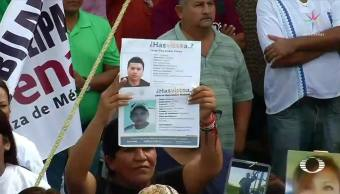 Familiares Desaparecidos Piden Amlo Justicia Tamaulipas