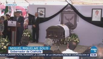 Familiares Amigos Rinden Homenaje Candidato Asesinado Coahuila