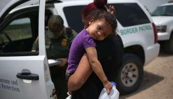 Familias Migrantes separadas frontera Estados Unidos México