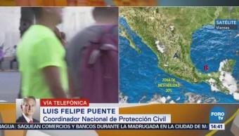 Felipe Puente Varias Entidades México Superan Temperatura Histórica