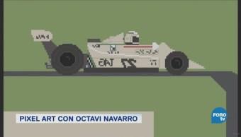 Pixel Art Videojuegos 8 Bit Octav Navarro