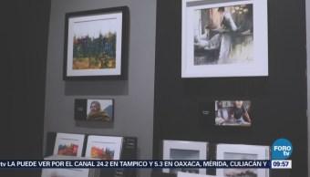 Galería artística en Polanco permite tocar las obras