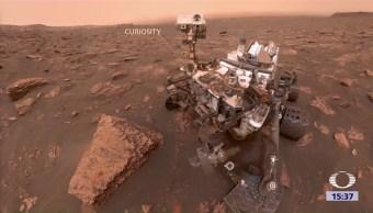 Gran Tormenta Polvo Marte Planeta Rojo Nasa