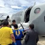 Heridos de Guatemala llegan a la CDMX para ser atendidos