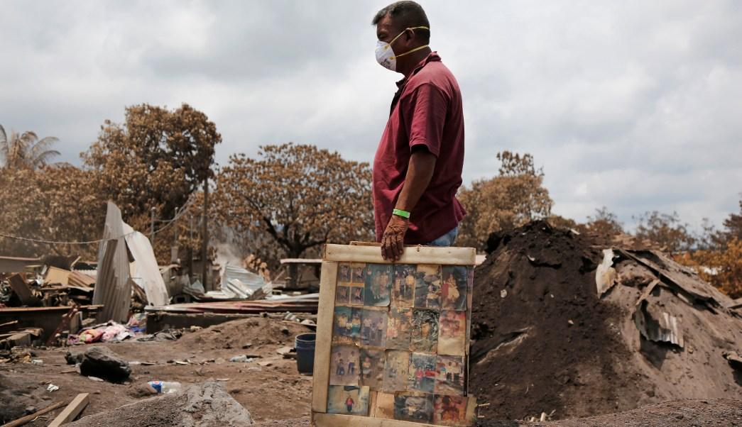 Guatemala Estados Unidos TPS migrantes erupción Volcán Fuego