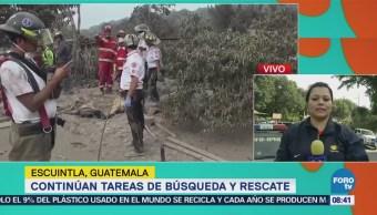 Guatemala reporta ocho erupciones por hora del Volcán de Fuego