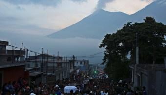 Continúa la alerta roja por Volcán de Fuego en Guatemala