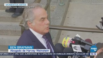 Harvey Weinstein se declara inocente en corte de Nueva York