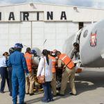 Llegan a CDMX dos heridos por Volcán de Fuego en Guatemala