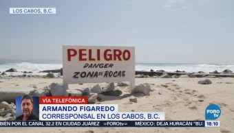 Huracán 'Bud' Acerca Los Cabos, Bcs