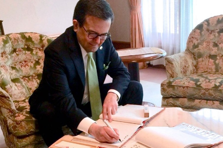 Guajardo concluye gira de trabajo por Japón