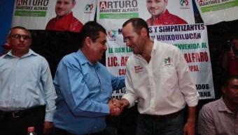 Guillermo Espnoza Arturo Martinez, PRI PAN politica