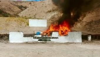 Incinera PGR más de dos toneladas de narcóticos en Tijuana