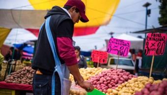 INEGI registra aumento de la inflación anual a 4.54%