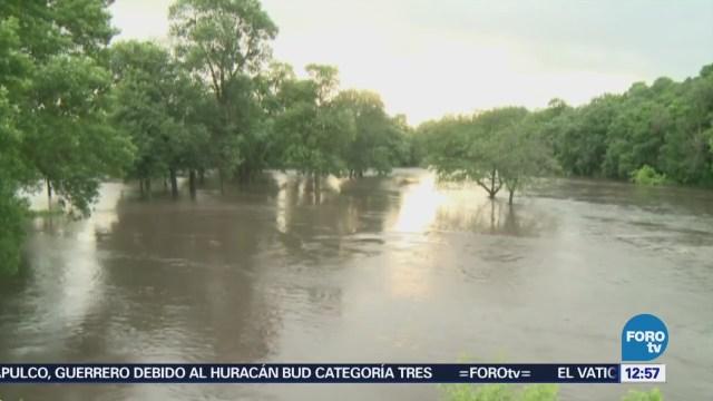 Intensas lluvias provocan inundaciones en Iowa