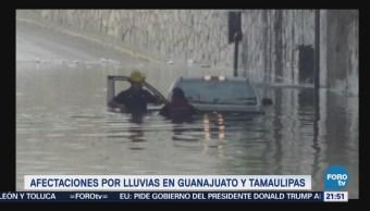 Intensas lluvias provocan severas inundaciones en
