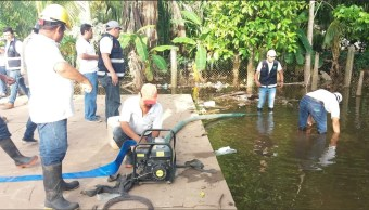 Reportan 2 mil viviendas afectadas por lluvias en Q. Roo